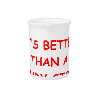 el competir con de arnés jarra para bebida