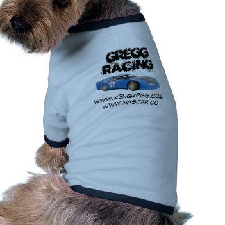 El competir con de Gregg: Cuál está encima de perr Camiseta Con Mangas Para Perro