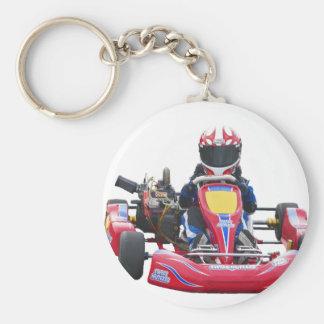 El competir con de Kart Llavero Personalizado