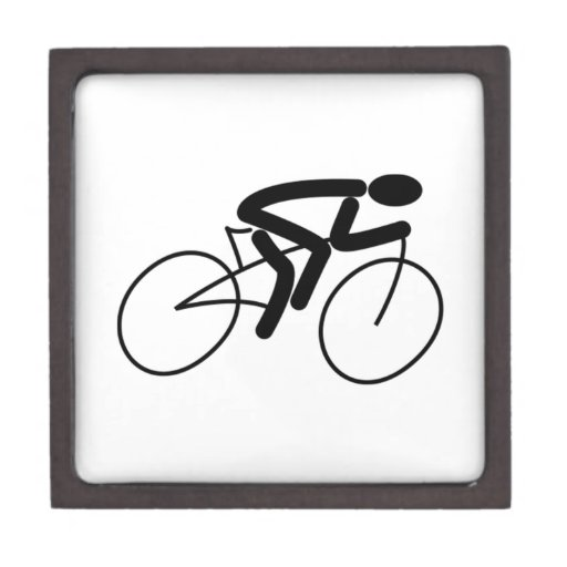 El competir con de la bicicleta cajas de recuerdo de calidad