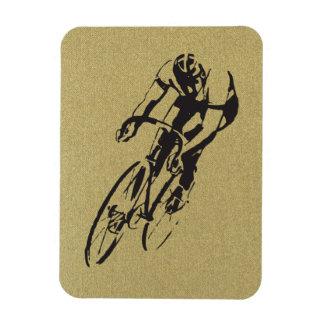 El competir con de la bicicleta imanes rectangulares