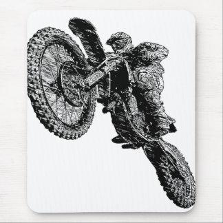 El competir con de Moto Alfombrilla De Ratones