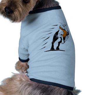 el competir con de perro del galgo retro ropa perro