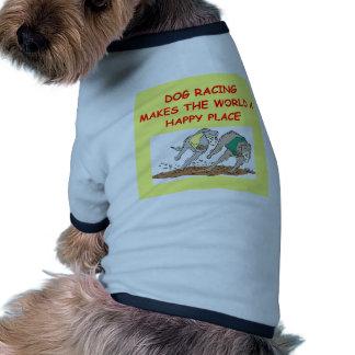 el competir con de perro camisetas de mascota