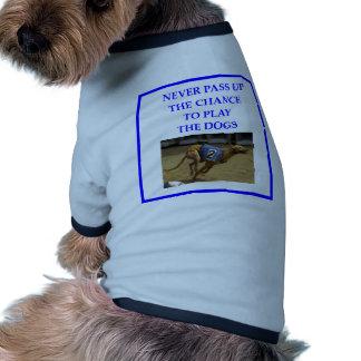 El competir con de PERRO Camisetas De Perro