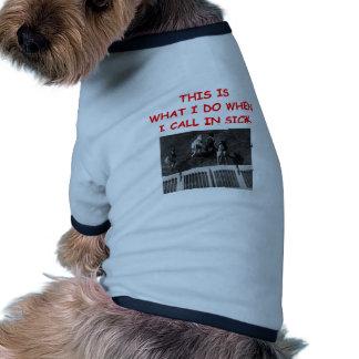 el competir con de perro camisa de mascota