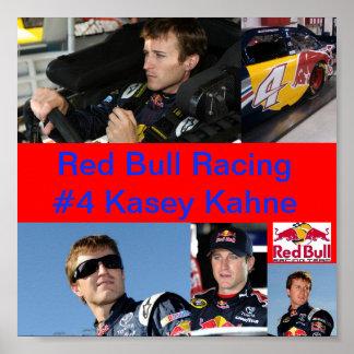 El competir con de Red Bull Póster