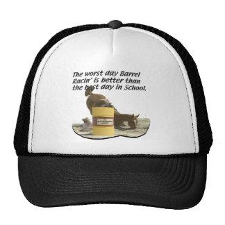 El competir con del barril - escuela del desplome  gorra