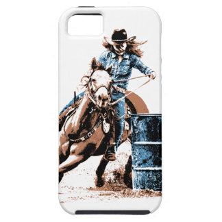 El competir con del barril iPhone 5 Case-Mate carcasas