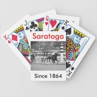 El competir con del circuito de carreras histórico cartas de juego