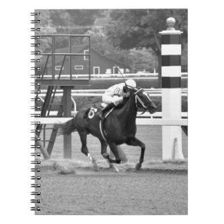 El competir con del circuito de carreras histórico notebook