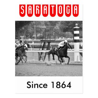 El competir con del circuito de carreras histórico postales