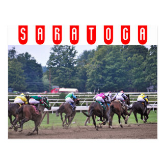 El competir con del circuito de carreras histórico tarjetas postales