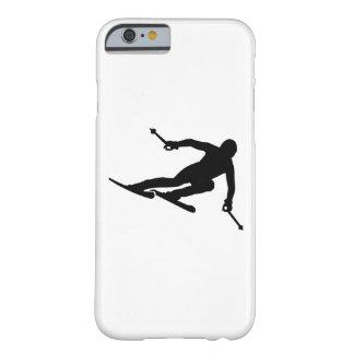 El competir con del esquí funda para iPhone 6 barely there