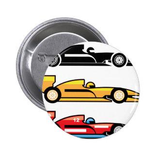 El competir con del Fórmula 1 Pin Redondo De 2 Pulgadas