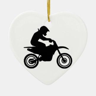 El competir con del motocrós ornamentos de reyes magos