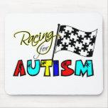 El competir con para el autismo - cojín de ratón tapete de ratón