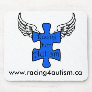 El competir con para el cojín de ratón del autismo alfombrilla de raton