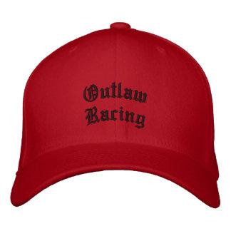 El competir con proscrito gorra de beisbol