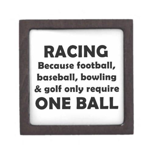 El competir con requiere bolas cajas de recuerdo de calidad