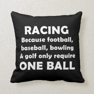 El competir con requiere bolas almohadas