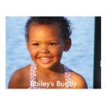 El compinche de Bailey de las postales