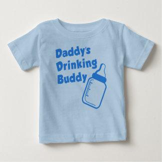 El compinche de consumición del papá playera de bebé