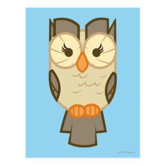 El compinche de la chispa crepuscular de Owlowisci Tarjeta Postal