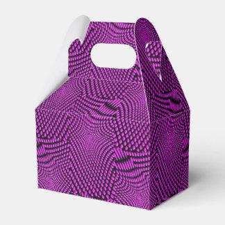 el componer del modelo, púrpura caja para regalos de fiestas