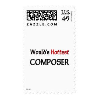 El compositor más caliente de los mundos sello
