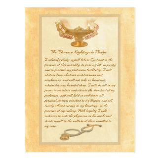 El compromiso de Florence Nightingale Postal