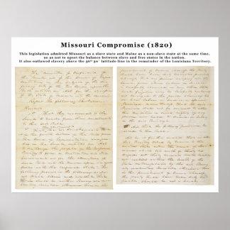 El compromiso de Missouri (1820) Impresiones