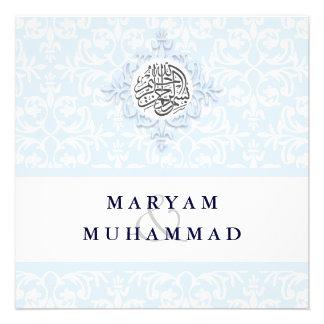 El compromiso del boda del damasco del Islam islám Comunicado
