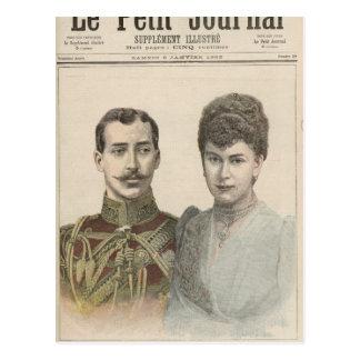 El compromiso del duque del vencedor de Albert de Tarjeta Postal