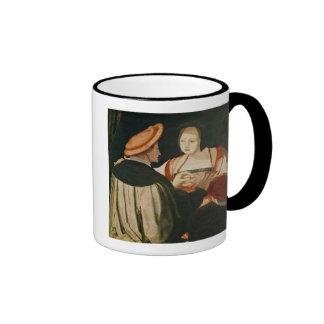 El compromiso tazas de café