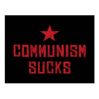 El comunismo chupa tarjeta postal