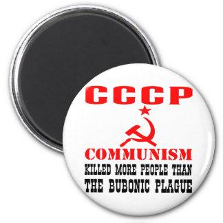 El comunismo mató a más gente que peste bubónica imán redondo 5 cm