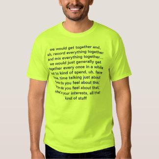el concepto de amistad camisas