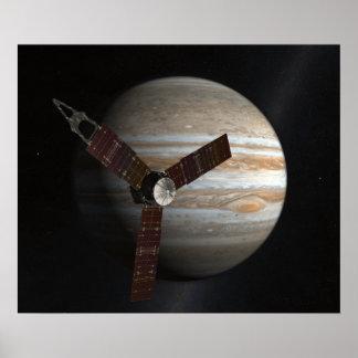 El concepto del artista de la nave espacial de Jun Impresiones