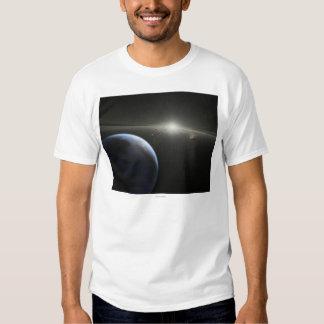 El concepto del artista de una fotografía astroide polera