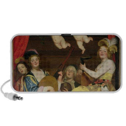 El concierto, 1624 portátil altavoces