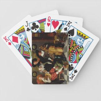 El concierto aceite en el panel cartas de juego