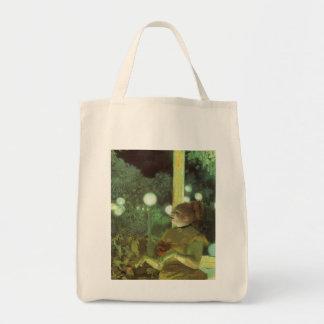 El concierto de Edgar Degas, bella arte del café Bolsa Tela Para La Compra