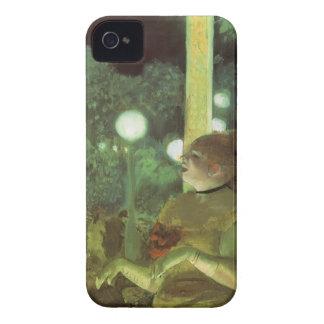 El concierto de Edgar Degas, bella arte del café iPhone 4 Fundas