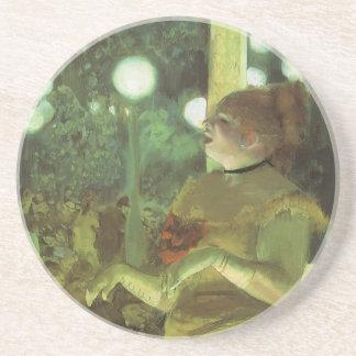 El concierto de Edgar Degas, bella arte del café Posavasos De Arenisca