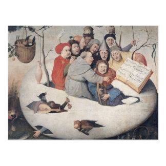 El concierto en el huevo tarjeta postal