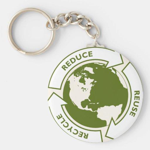 el conco va logotipo verde llavero