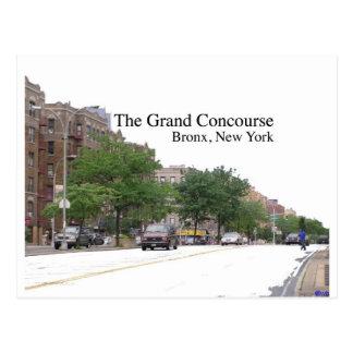 El Concouse magnífico Bronx NY Postales