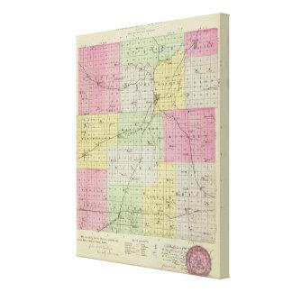 El condado de Anderson, Kansas Impresión En Lienzo