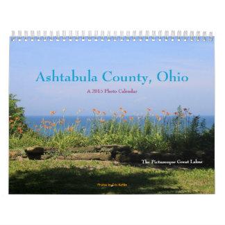 El condado de Ashtabula, Ohio (Great Lakes Calendarios